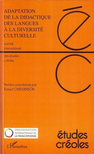 Couverture Adaptation de la didactique des langues à la diversité culturelle