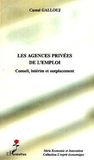 Couverture Les agences privées de l'emploi