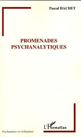 Couverture Promenades psychanalytiques
