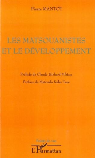Couverture Les matsouanistes et le développement