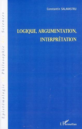 Couverture Logique, argumentation, interprétation
