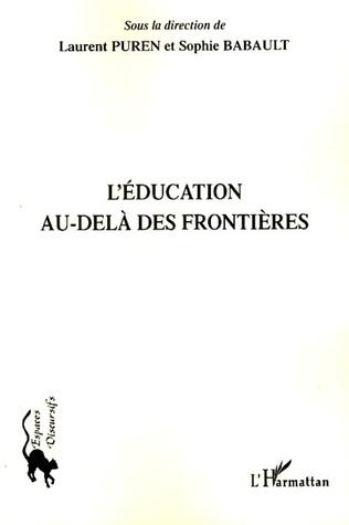 Couverture L'éducation au-delà des frontières