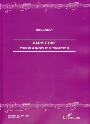 Couverture Harmotome