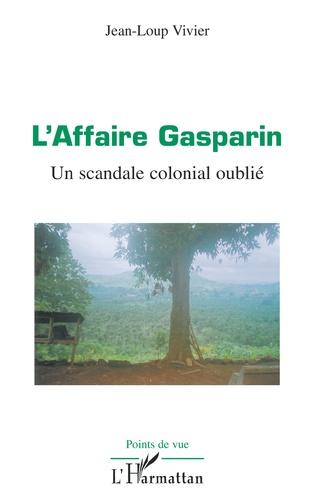 Couverture L'Affaire Gasparin