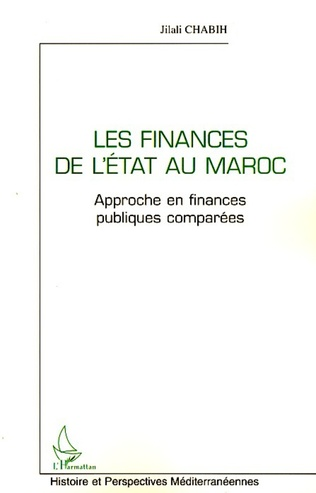 Couverture Les finances de l'état au Maroc