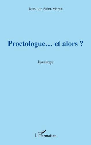 Couverture Proctologue... et alors ?