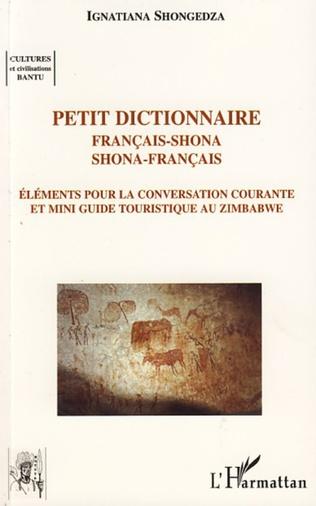 Couverture Petit dictionnaire français-shona shona-français