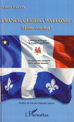 Couverture France, Québec, Wallonie : même combat !