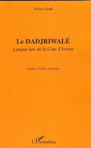Couverture Le Dadjriwalé