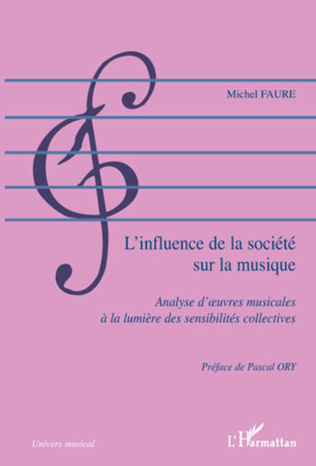 Couverture L'influence de la société sur la musique