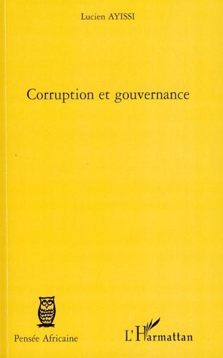 Couverture Corruption et gouvernance