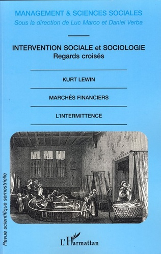 Couverture Intervention sociale et sociologie, regards croisés