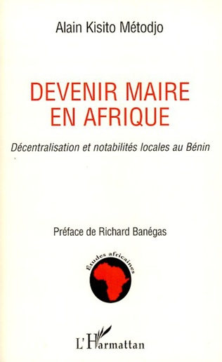 Couverture Devenir maire en Afrique