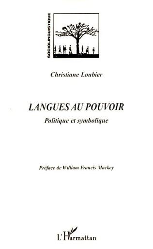 Couverture Langues au pouvoir