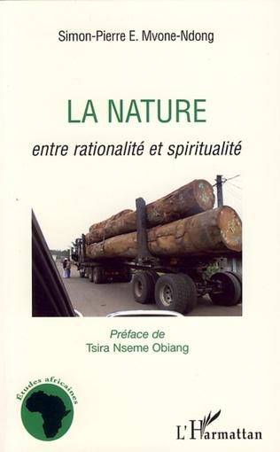 Couverture La nature entre rationalité et spiritualité