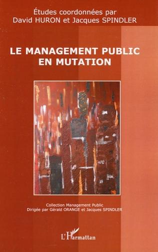 Couverture Le management public en mutation