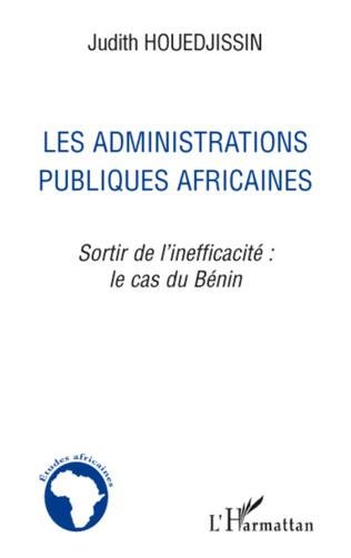 Couverture Les administrations publiques africaines