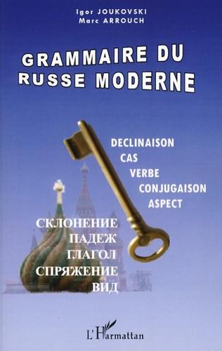 Couverture Grammaire du russe moderne