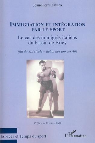 Couverture Immigration et intégration par le sport