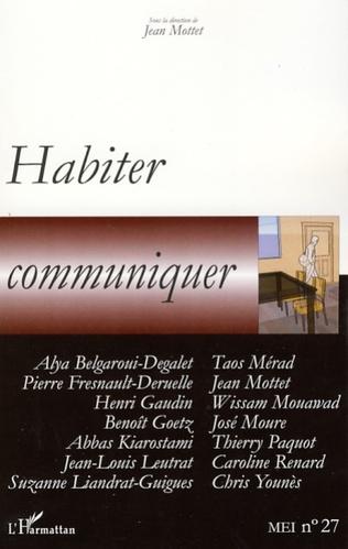 Couverture Habiter, communiquer