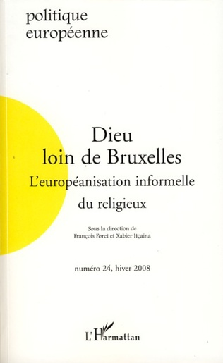 Couverture Dieu loin de Bruxelles