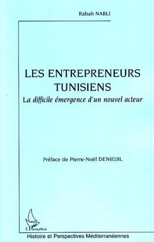 Couverture Les entrepreneurs tunisiens