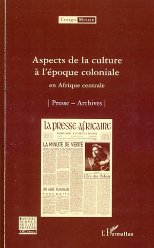 Couverture Aspects de la culture à l'époque coloniale