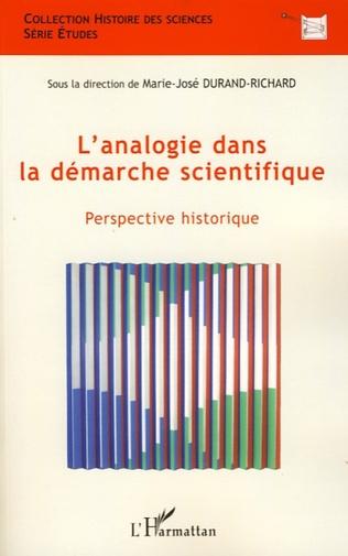 Couverture L'analogie dans la démarche scientifique