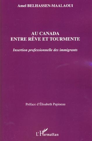 Couverture Au Canada entre rêve et tourmente