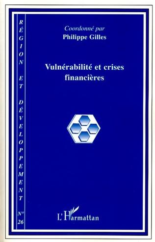 Couverture Vulnérabilité et crises financières