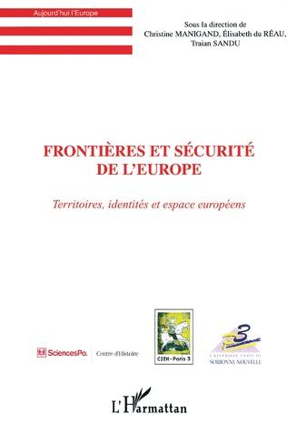 Couverture Frontières et sécurité de l'Europe