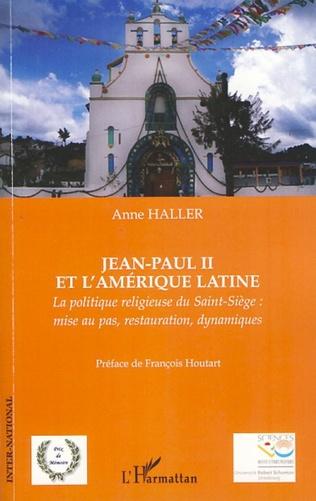 Couverture Jean-Paul II et l'Amérique latine
