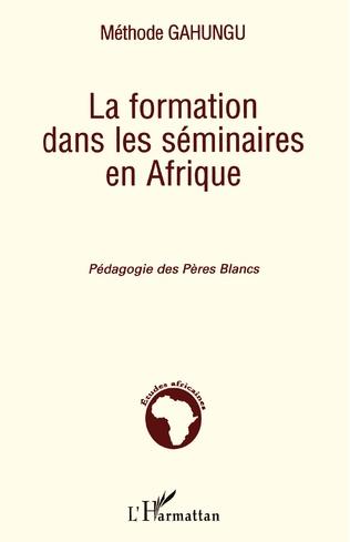 Couverture La formation dans les séminaires en Afrique