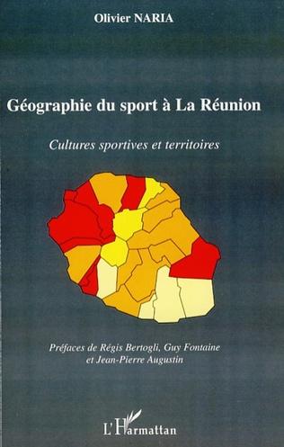 Couverture Géographie du sport à La Réunion
