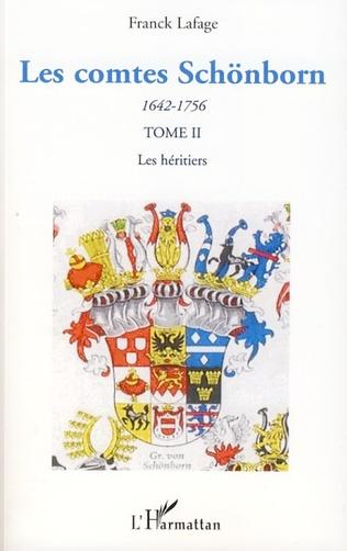 Couverture Les comtes Schönborn (1642-1756)