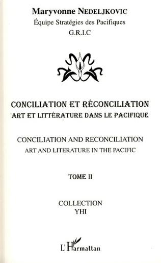 Couverture Conciliation et réconciliation