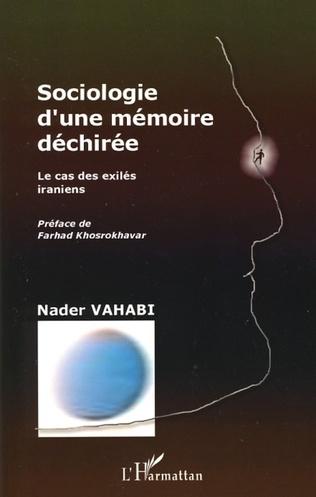 Couverture Sociologie d'une mémoire déchirée