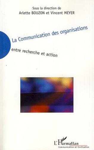 Couverture La communication des organisations
