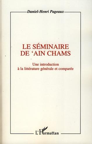 Couverture Le séminaire de 'Ain Chams