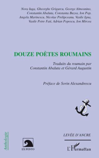 Couverture Douze poètes roumains