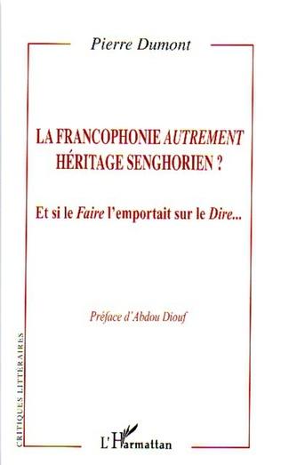 Couverture La francophonie autrement