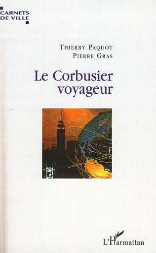 Couverture Le Corbusier voyageur