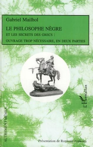 Couverture Le Philosophe Nègre