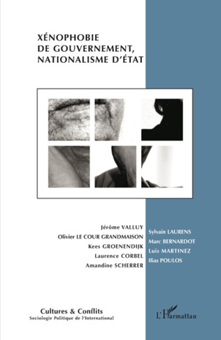 Couverture Xénophobie de gouvernement, nationalisme d'Etat