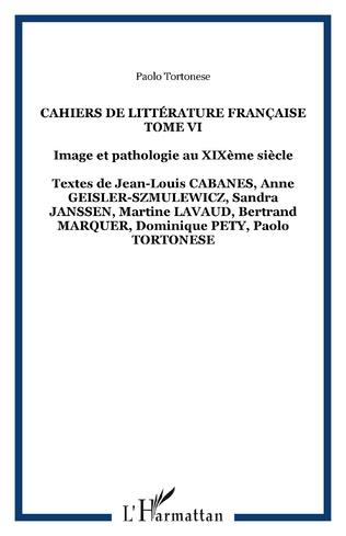 Couverture Cahiers de Littérature Française Tome VI