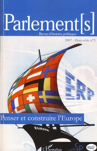 Couverture Penser et construire l'Europe