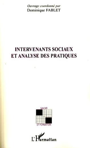 Couverture Intervenants sociaux et analyse des pratiques