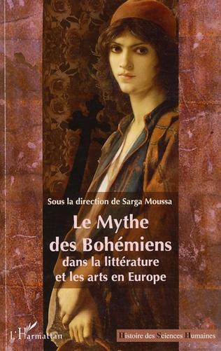 Couverture Le Mythe des Bohémiens dans la littérature et les arts en Europe