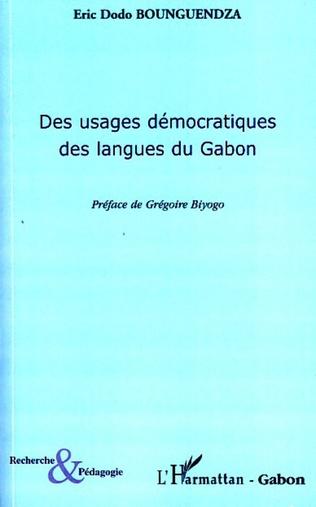 Couverture Des usages démocratiques des langues du Gabon