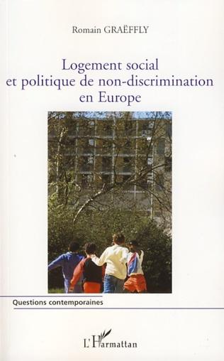 Couverture Logement social et politique de non-discrimination en Europe